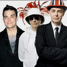 Robbie Williams With Pet Shop Boys