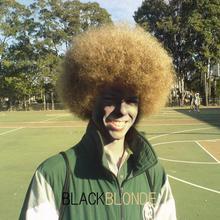 black blonde