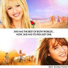 Hannah Montana And Miley Cyrus