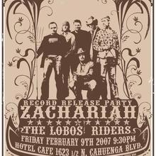 Zachariah & the Lobos Riders