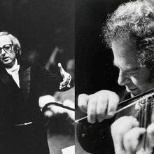 Itzhak Perlman & Andre Previn